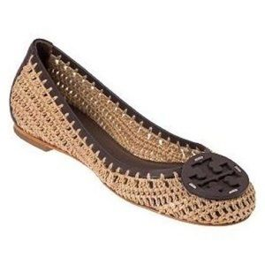 Tory Burch Rory crochet flats